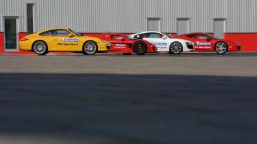 Supercar line-up