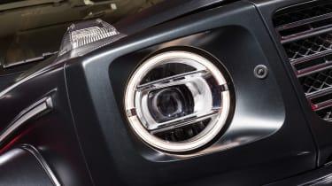 Mercedes G-Class show - headlight