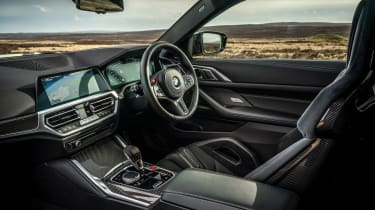 BMW M4 Competition 2021 review – interior