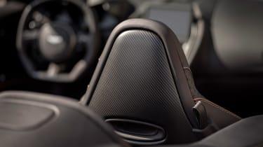 Aston Martin DBS Superleggera Volante - seatback