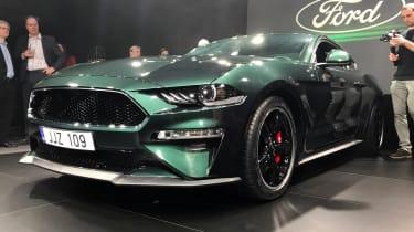Ford Mustang Bullitt Geneva – front quarter