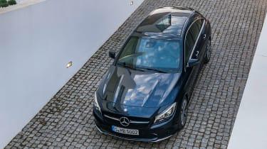 Mercedes-Benz CLA200 Shooting Brake - top