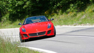 Ferrari 599 GTO supercar review