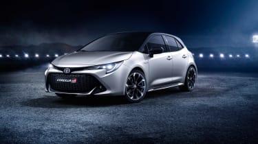Toyota Corolla GR Sport - front quarter