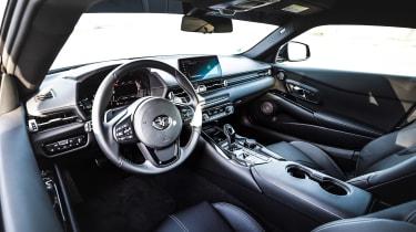 Manhart Toyota Supra interior