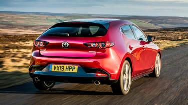 2019 Mazda 3 rear