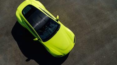 Aston Martin Vantage - green static roof