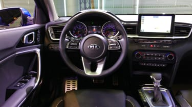 Kia Ceed launch images - dash
