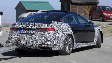 Audi A5 Sportback spy - rear
