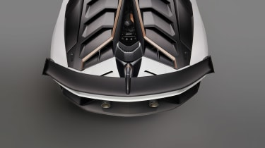 Lamborghini Aventador SVJ - rear deck