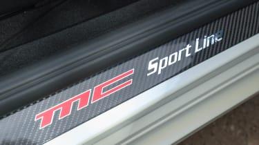2013 Maserati GranCabrio MC sill badge