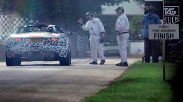 Jaguar F-type at Goodwood video