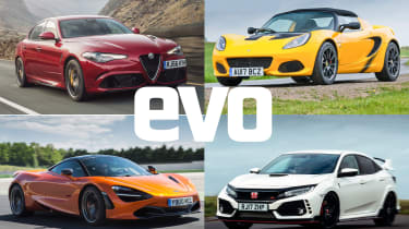 Best performance cars 2018 - header