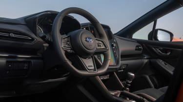 All-new 2022 Subaru WRX – interior