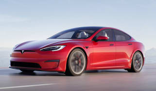 Tesla Model S Plaid front