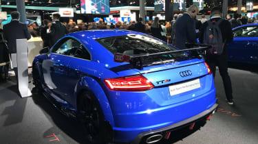 Audi TTRS Audi Sport Frankfurt motor show