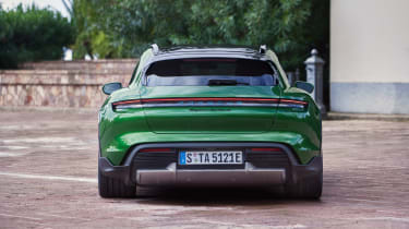 Porsche Taycan Cross Turismo - Turbo S tail