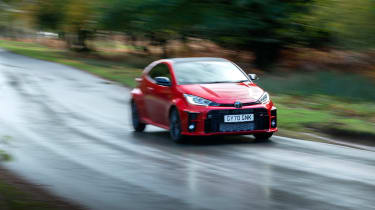2020 Toyota GR Yaris Red - front cornering