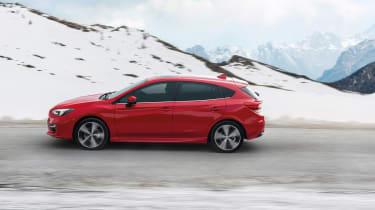 Subaru Impreza Hatch - side