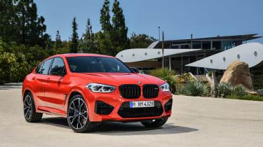 BMW X4 M - front