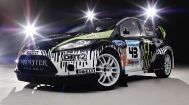 Ken Block's Fiesta rally car