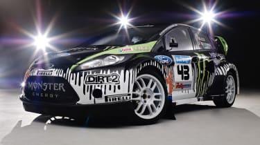 Ken Block's Fiesta rally car