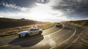 Mercedes-AMG GT and Porsche 911 GTS
