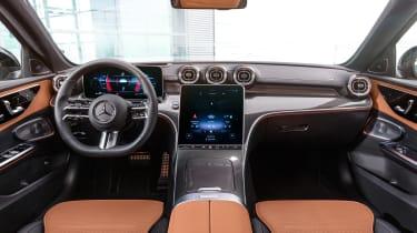 2021 Mercedes C-class revealed - dash