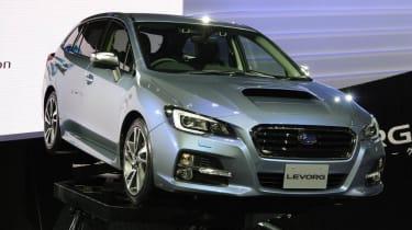 Subaru Levorg concept estate side front
