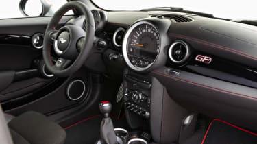 2012 Mini John Cooper Works GP interior dashboard
