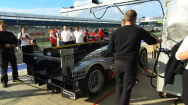 Behind the scenes at Le Mans with Audi