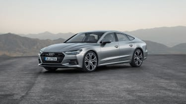 2018 Audi A7 Sportback press - front quarter 2