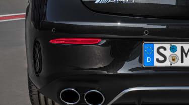 Mercedes-AMG E53 – exhaust close-up