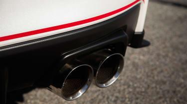 Subaru WRX STI S209 - exhaust