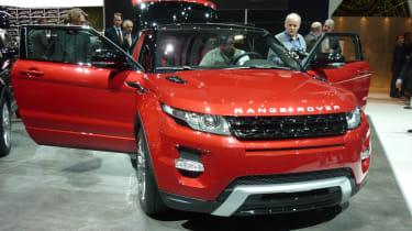 Geneva 2011: Range Rover Evoque