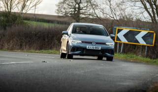 Volkswagen Golf GTI Clubsport - cornering front