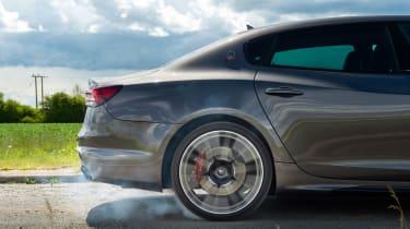 Maserati Quattroporte Trofeo – burn