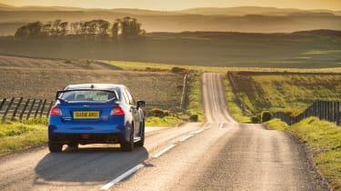 Subaru WRX STI Final Edition - rear