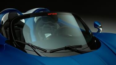 McLaren Elva with a windscreen