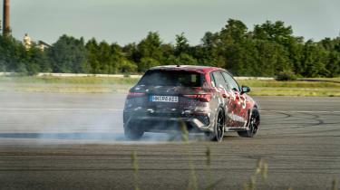 Audi RS3 mule 2020 SB – rear