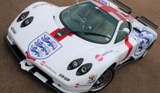 England Pagani Zonda supercar
