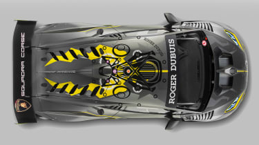 Lamborghini Huracan Super Trofeo EVO - top view
