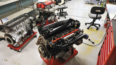Tuned Nissan engines at the NISMO factory