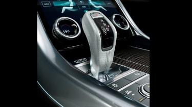 Range Rover Sport - on road gear selector