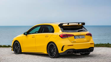 Mercedes-AMG A35 - rear quarter statoc