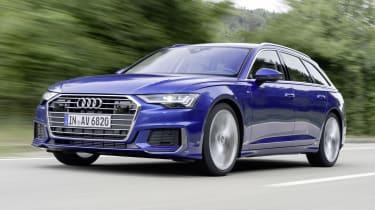 Audi A6 2018 Avant first drive - front quarter