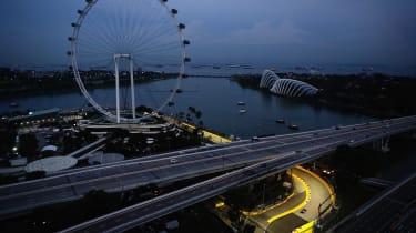 F1 Singapore - wheel