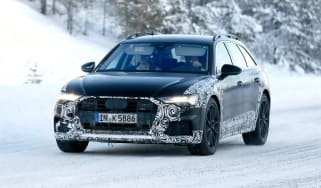 Audi A6 Allroad 2019 spied - front