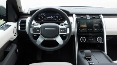Land Rover Discovery 5 2021 - dash