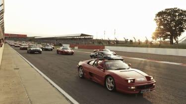 Largest parade of Ferraris ever